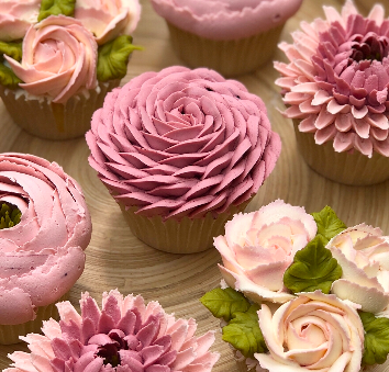 buttercream frosting rose, how to make buttercream frosting flowers