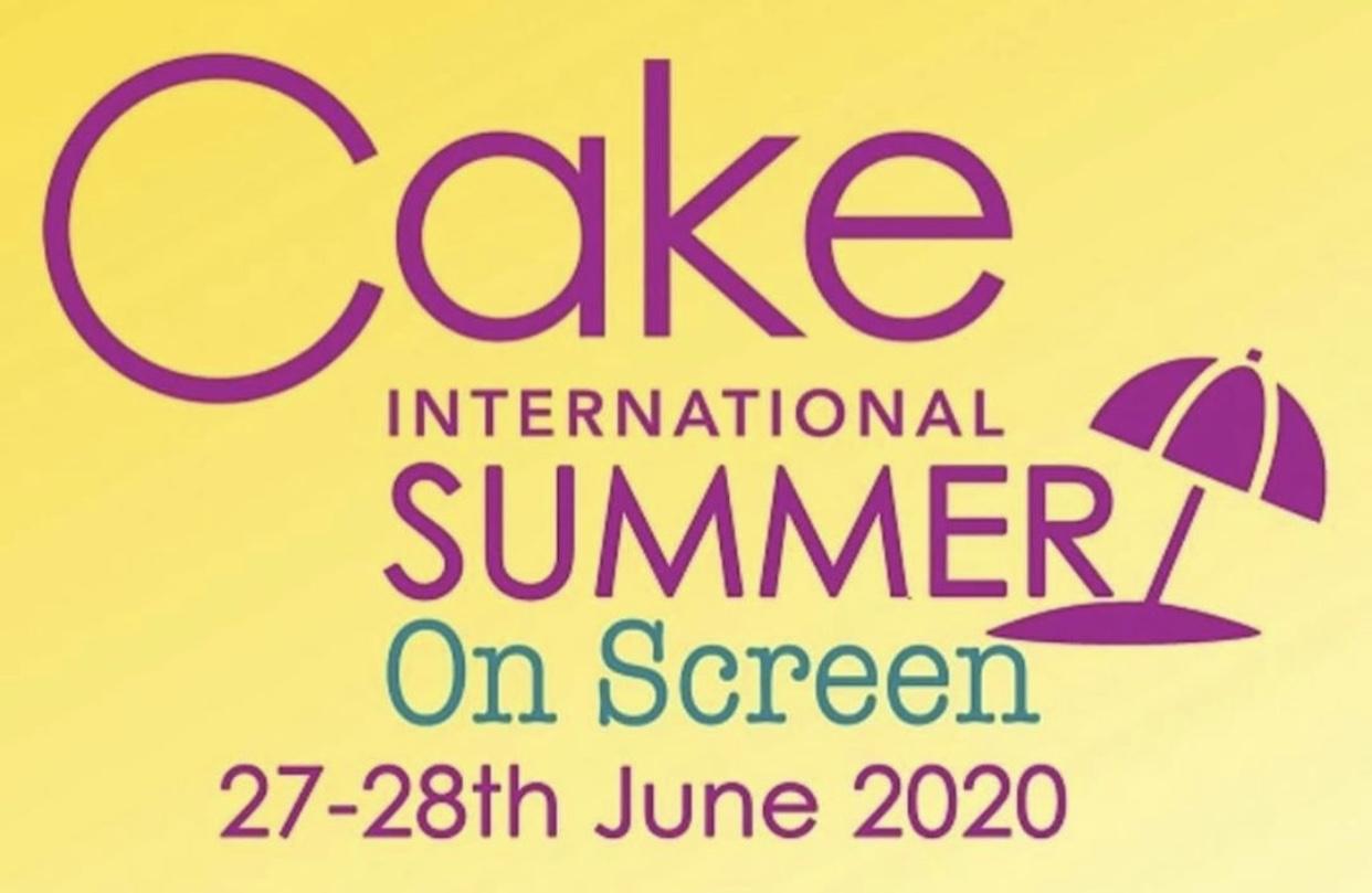 cake international tutor, cake international, #cionscreen